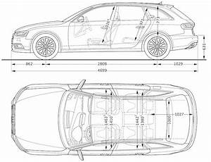 Dimension Audi A4 : int rieur a4 2008 2015 qualit de finition espace int rieur coffre confort ~ Medecine-chirurgie-esthetiques.com Avis de Voitures