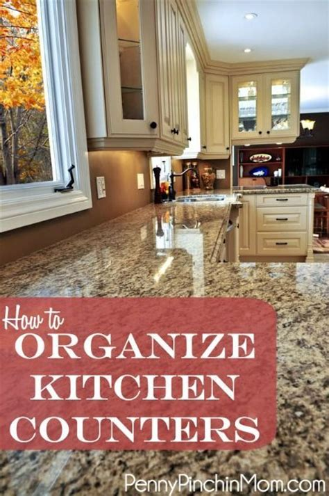 unclutter your life clearing the kitchen counter of how to organize and declutter your kitchen counters