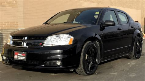 dodge avenger sxt sunroof black alloy wheels
