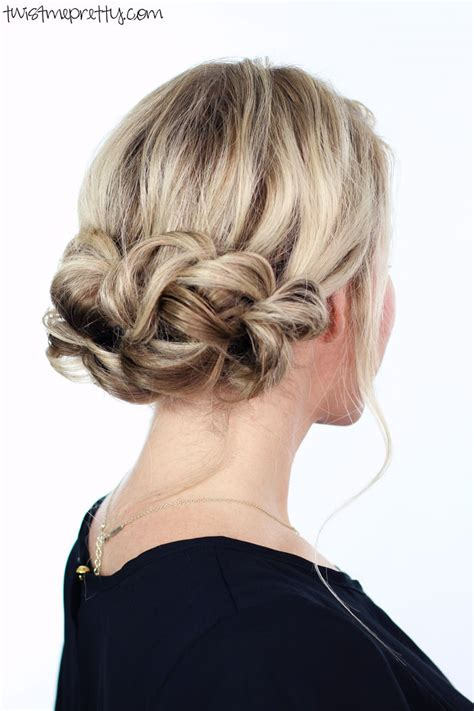 Pretty Updo Hairstyles by Updo Twist Me Pretty