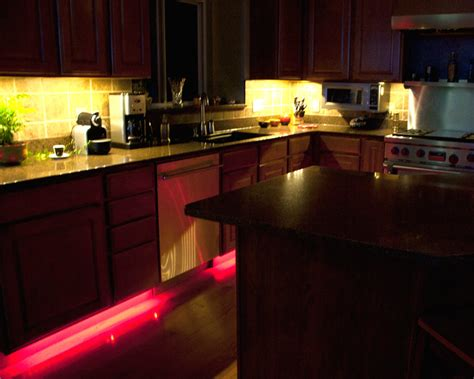 cabinet strips kitchen sedc series color chasing rgb controller led 8675