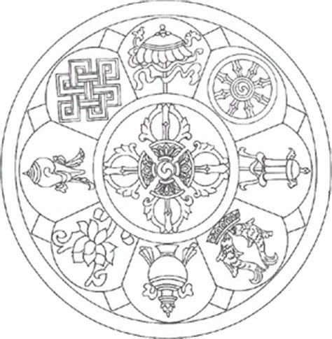 mandala symbole bedeutung buddhismus in nepal