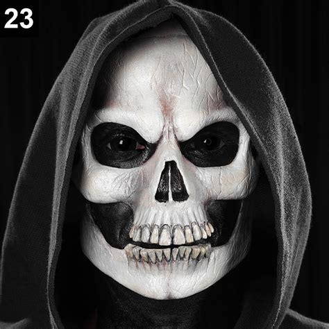 skelett gesicht schminken make up tutorial totenkopf maskworld