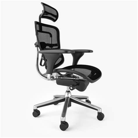 raynor ergohuman chair 3d model max obj fbx mtl cgtrader