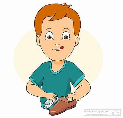 Polishing Shoe Child Clipart Polish Nail Clip
