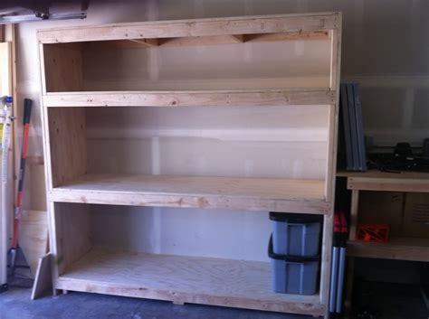 diy garage storage cabinets 2x4 garage shelves for space addition the better garages