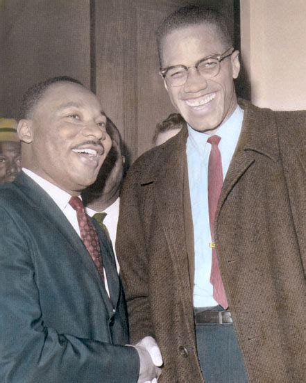 malcolm x color martin luther king jr malcolm x americans 8x10
