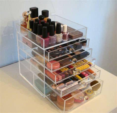 transparent acrylique maquillage bo 238 tes de rangement effacer maquillage bo 238 te de rangement