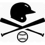 Baseball Helmet Icon Plate Emblem Icons Ball
