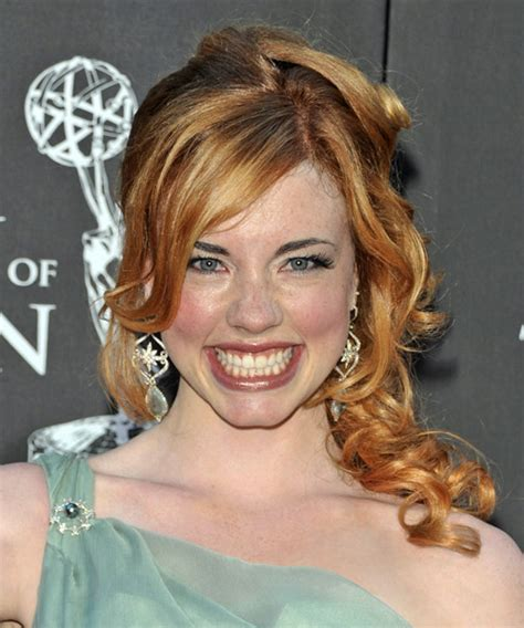 molly burnett long curly formal   hairstyle