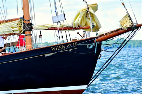 A Sail on General Patton's Private Yacht When and If at ...