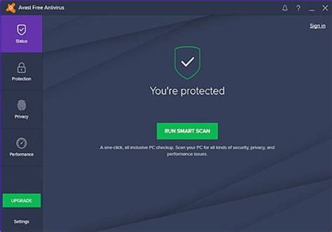 télécharger de la protection antivirus avast 2016