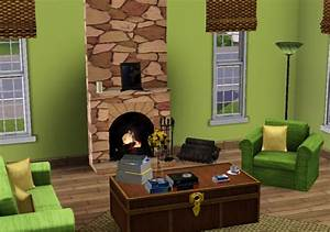 Apple green and brown living room house decor ideas for Apple green and brown living room