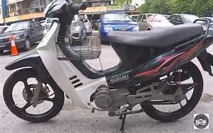 Jual Lis Body   Striping    Stiker Suzuki Gsx 110   Shogun 110 Old   Kebo Cbu Malaysia Hitam Merah
