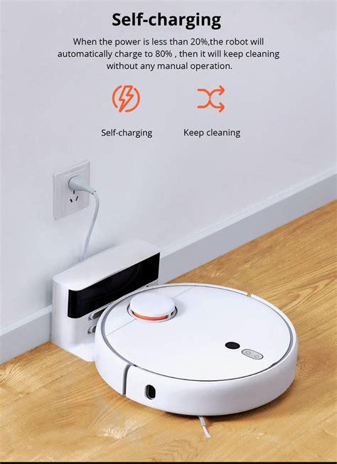 xiaomi mijia  robot vacuum cleaner white cn plug