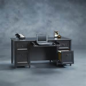 sauder edge water executive desk reviews wayfair