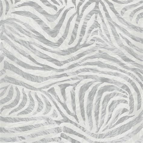 Animal Print Textured Wallpaper - graham brown zebra print animal faux fur textured