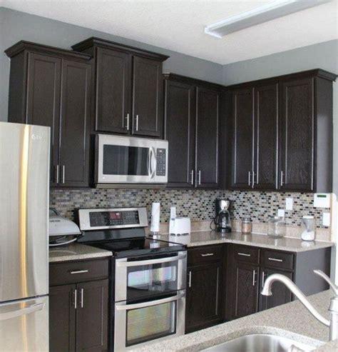 grey kitchen walls ideas  pinterest gray