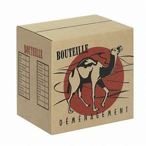 Achat Carton De Déménagement : carton de d m nagement pour bouteilles ~ Melissatoandfro.com Idées de Décoration