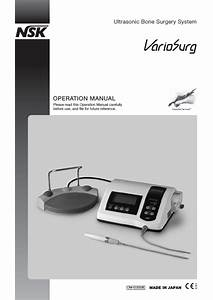 Variosurg Operation Manual Feb 2012 Pdf Download