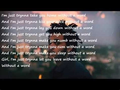 Banks Bedroom Wall Lyrics Meaning by The Weeknd Enemy Lyrics Quot I Wanna Lose Myself Between Your