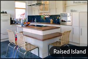 raised kitchen island visually appealing ideas for kitchen islands with a breakfast bar