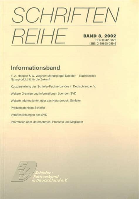 Schiefer Fachverband In Deutschland by Svd Schiefer Fachverband In Deutschland E V
