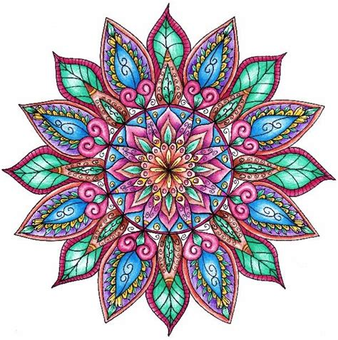 colorful mandala tattoo colorful mandala tattoo