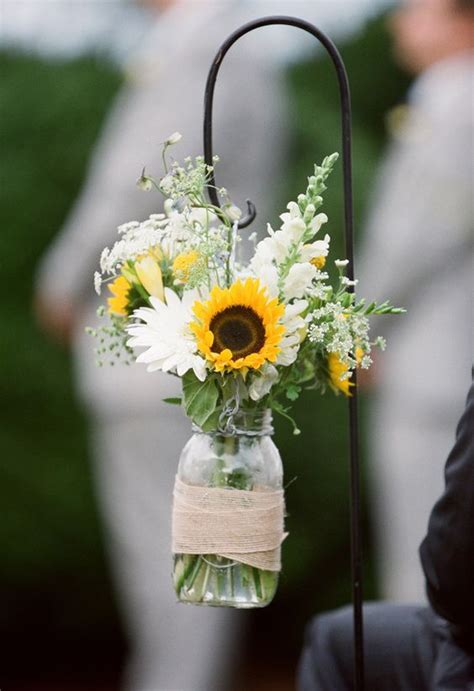 100 Bold Country Sunflower Wedding Ideas Country