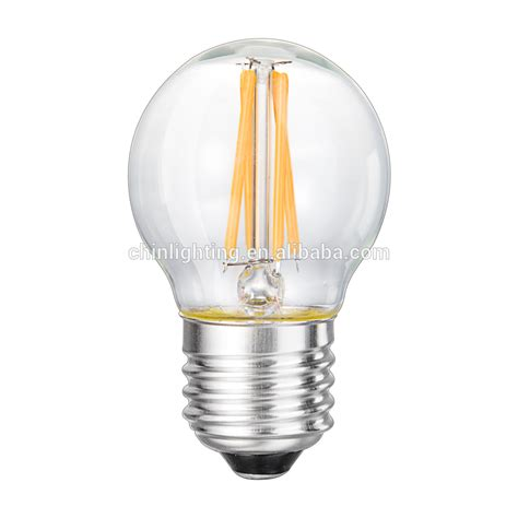 g45 led e27 led filament dimmable 110v led light bulb