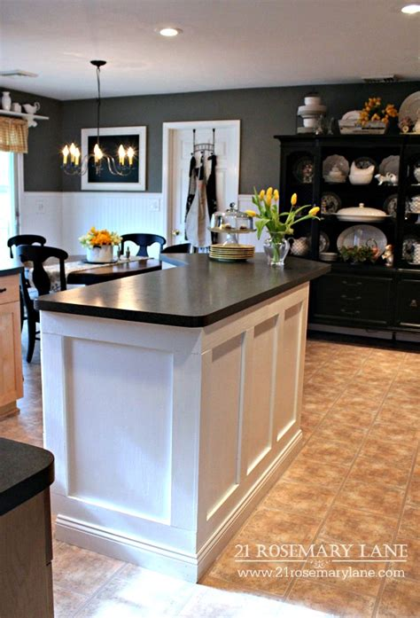 kitchen island makeover ideas 21 rosemary board batten kitchen island makeover 5112