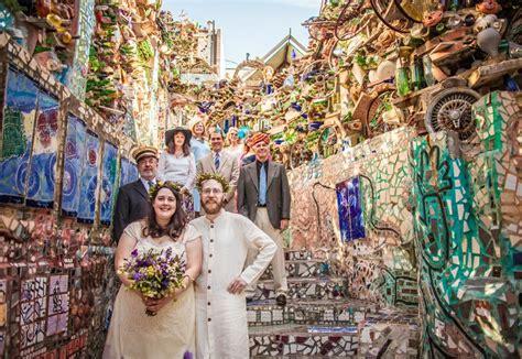philadelphias magic gardens wedding venue  philadelphia