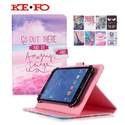 universal leather cover for 10 inch android tablet