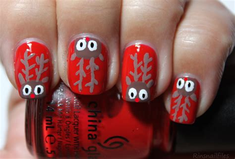50 Creative Christmas Nails. The Ultimate Gallery Of