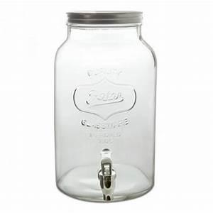 Fontaine A Boisson Avec Robinet : fontaine boisson mason jar 6 5 l cadeau maestro ~ Teatrodelosmanantiales.com Idées de Décoration