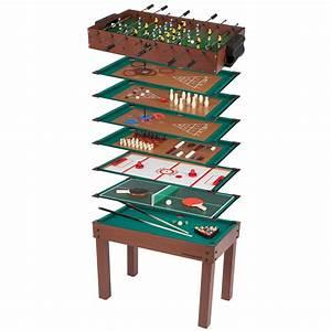 Spieltisch 12 In 1 : ultrasport spieltisch 12 in 1 game zone kinder spieltisch mit tischfu ball billard schach und ~ Yasmunasinghe.com Haus und Dekorationen
