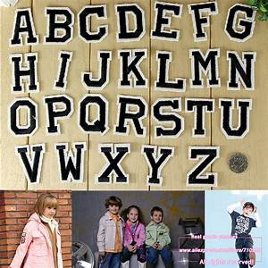 26pcs set alphabet letters diy patch embroidery clothing for Diy iron on letters for clothing