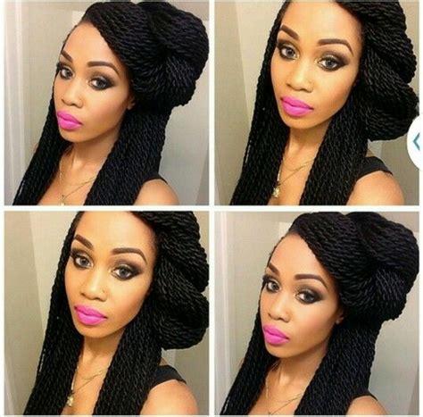 coiffure avec tresse africaine modele de coiffure avec des tresses africaine
