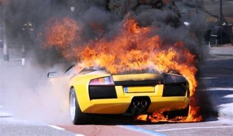 Lamborghini Murcielago Catches Fire In The Netherlands