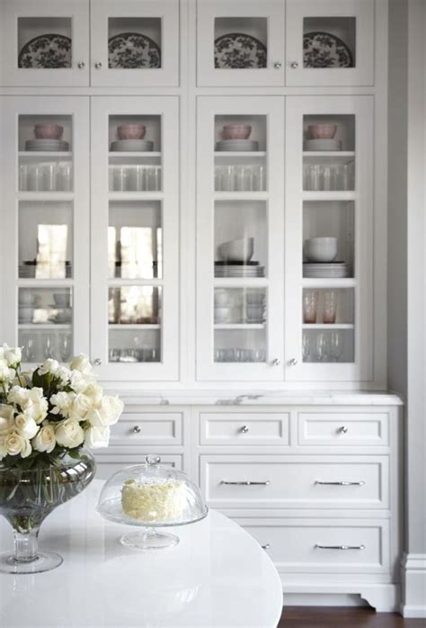 white kitchen cabinets with glass doors best 25 glass cabinets ideas on glass kitchen