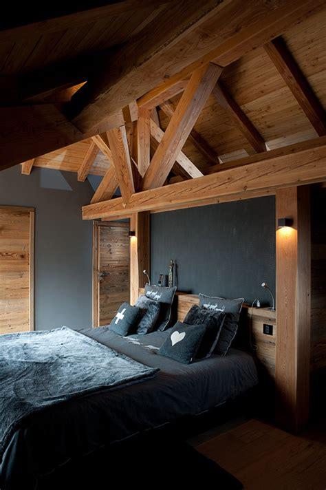deco chambre chalet décoration d 39 intérieur chambre chalet les 2 alpes
