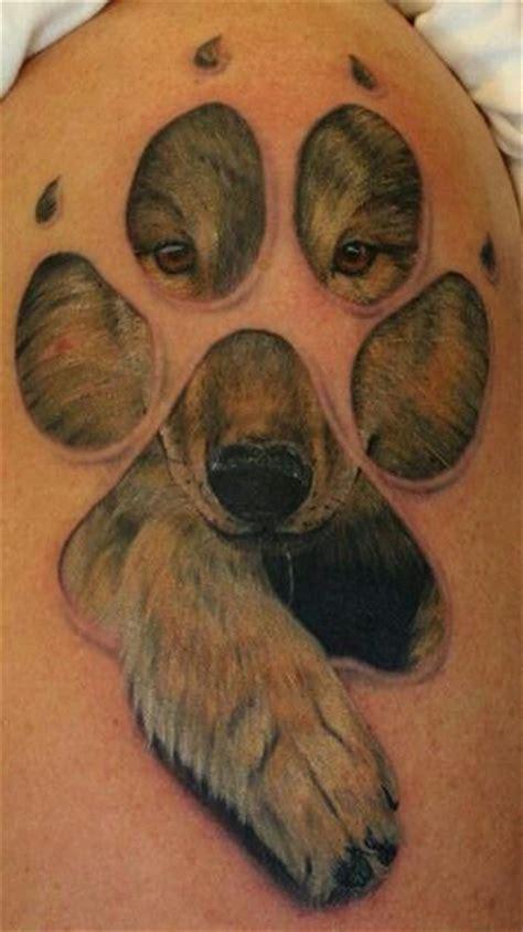 dog tattoos  show  true devotion