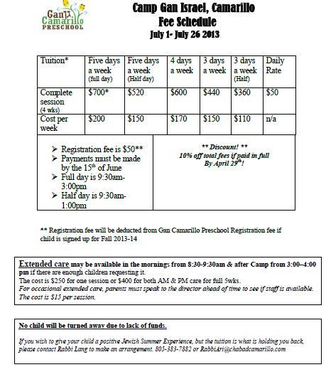 gan camarillo preschool summer camp macaroni kid 861 | gancamarillo fees