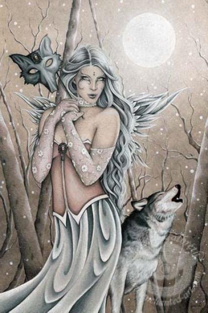 fairy magyk ecards jessica galbreth winter wood