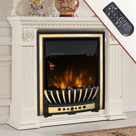 remote control electric fire fireplace kw led fire place