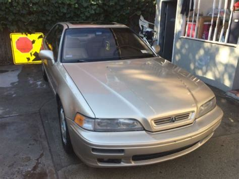 Acura Legend 6 Speed by Sell Used 94 Acura Legend 6 Speed Gold Classic In
