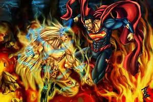 Image - Goku vs superman commission by qbatmanp-d4be9yo ...