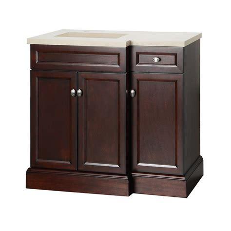 home depot vanity combo foremost international teagen 36 inch vanity combo with