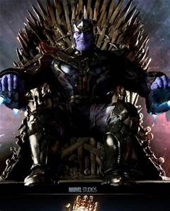 Thanos And GAME OF THRONES Mashup Art GAME OF STONES
