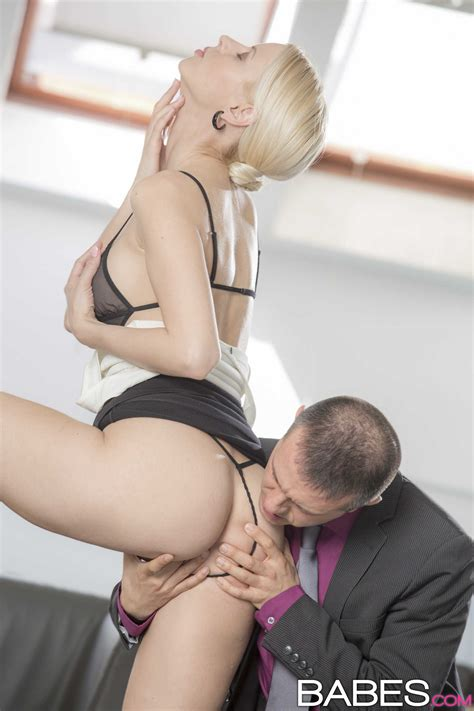 Seductive Blonde Secretary Needs A Good Fuck MILF Fox